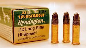 22 Long Rifle Ammunition